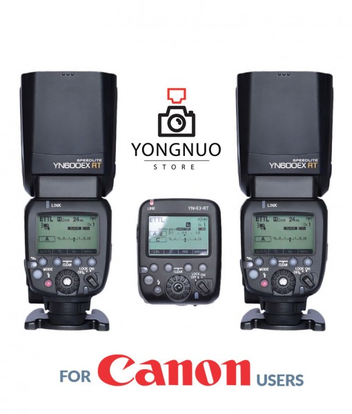 Yongnuo YN-E3-RT + YN600EX-RT