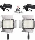2x Yongnuo YN300 III + 2x AC adapters