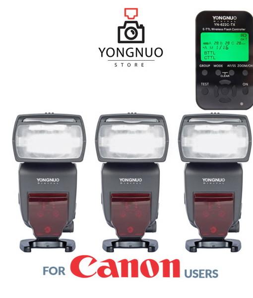 Yongnuo YN622C-TX + 3x Yongnuo YN685 kit