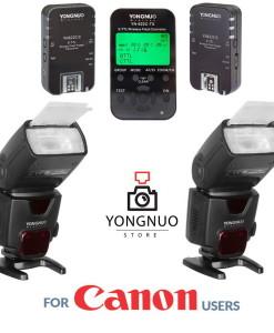 Yongnuo YN622C-TX + 2x YN622C II + 2x Yongnuo YN500EX