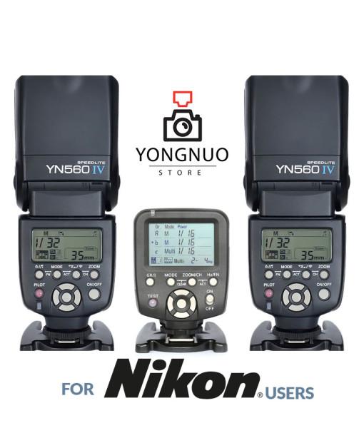 Yongnuo YN560-TX + 2x Yongnuo YN560 IV
