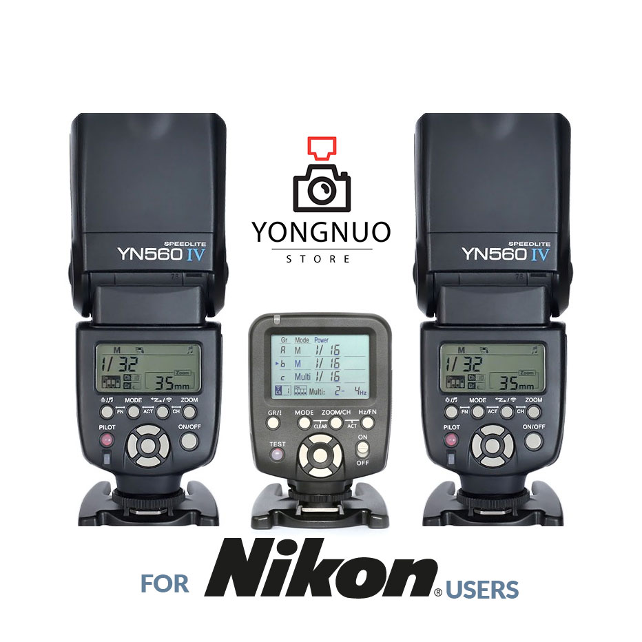 Yongnuo YN 560 IV Flash Yn560iv Speedlite for Canon Nikon