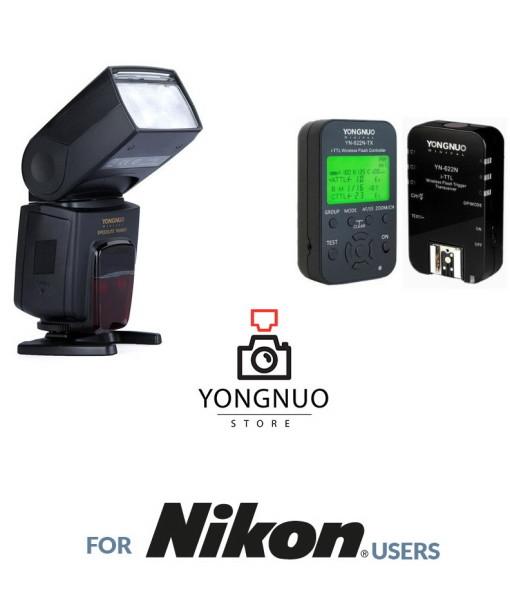 Yongnuo YN568EX + YN622N KIT