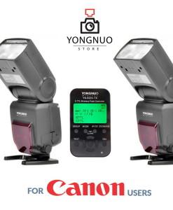 Yongnuo YN685 x2 + Yongnuo YN622C-TX
