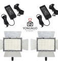 2x Yongnuo YN900 5500K LED lights + 2x AC Adapters video lighting kit