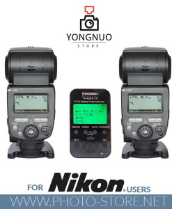 Yongnuo YN622N-TX + 2x YN685 flashes for Nikon