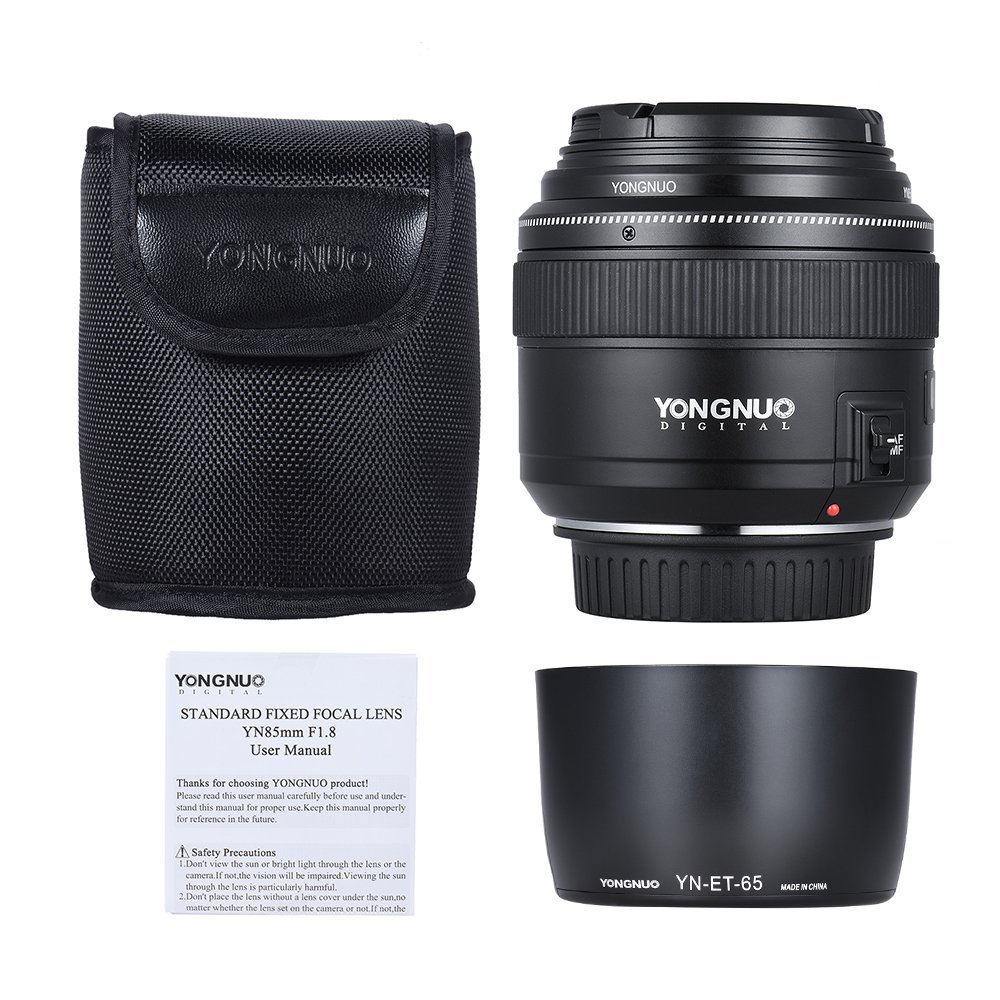 YONGNUO 85mm F1.8 - Prime Lens for Canon - Yongnuo Store